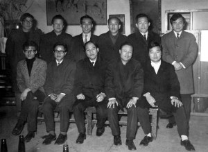 1958년 창악회 창립기념사진