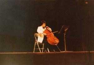 1979년 춘계작품발표-윤해중무반주첼로소나타