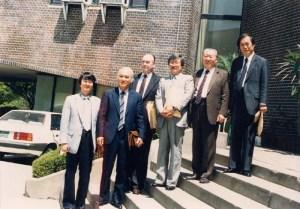 1988년 30주년기념- 임원과 초빙작곡가들
